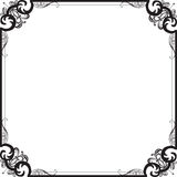 Beautiful frame with a pattern Royalty Free Stock Images