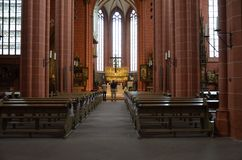 The Frankfurt Dom Cathedral Stock Image