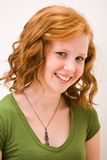 Beautiful Freckled Teen Girl Royalty Free Stock Photo