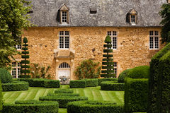 Beautiful french garden royalty free stock image