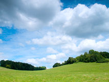 Beautiful French rural landscape Royalty Free Stock Photo