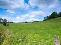 Beautiful French rural landscape Royalty Free Stock Image