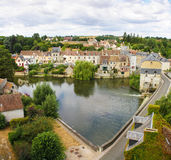 Beautiful French village Royalty Free Stock Image