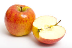 Beautiful fresh apples Stock Photo