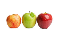 Beautiful fresh apples Royalty Free Stock Image