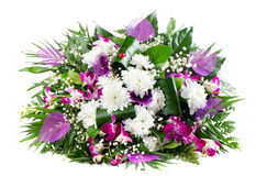 Beautiful  fresh flowers bouquet Stock Images