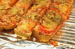 fresh hot sandwiches Stock Photo
