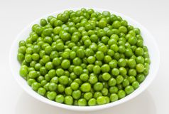 Peas. Beautiful, fresh and natural peas stock image