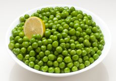 Peas. Beautiful, fresh and natural peas stock images