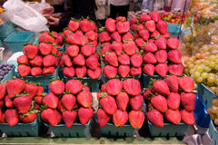 Beautiful fresh produce for sale in canada Royalty Free Stock Images