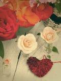 Beautiful fresh roses Royalty Free Stock Image