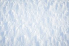 Beautiful fresh snow pattern in minimalistic style. Winter background. Norway, Northern Europe. Close up texture Stock Photo