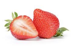 Beautiful fresh strawberries digitally cleaned Royalty Free Stock Photos