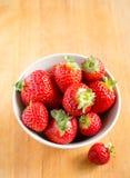 Beautiful fresh strawberries Royalty Free Stock Photo