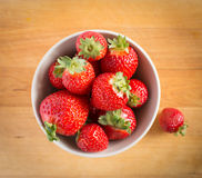 Beautiful fresh strawberries Stock Photography