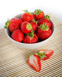 Beautiful fresh strawberries Royalty Free Stock Photo