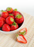 Beautiful fresh strawberries Royalty Free Stock Photography