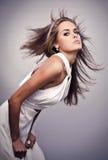 Beautiful friendly girl. Stock Photography