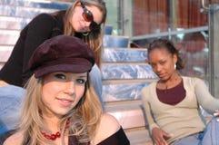 Beautiful Friends stock photo