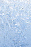Beautiful frosty pattern on glass Royalty Free Stock Image