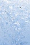 Beautiful frosty pattern on glass Royalty Free Stock Image