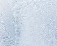 Beautiful frosty pattern on glass Royalty Free Stock Photo