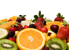 Beautiful fruit background Stock Images