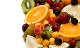 Beautiful fruit background Stock Photography