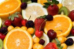 Beautiful fruit background Stock Image