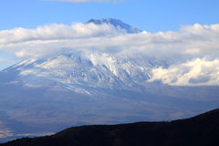 Beautiful fuji mountain in autumn Royalty Free Stock Images
