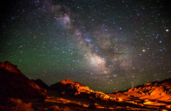 Beautiful Galaxy. This is in Inner Mongolia, China, I took the photo of the stars Royalty Free Stock Photography
