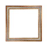 Beautiful gallery-frame isolated on white background Royalty Free Stock Images