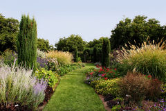 Beautiful garden Stock Photo