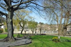 Beautiful Garden. Beautiful Park Garden in Spring Royalty Free Stock Image