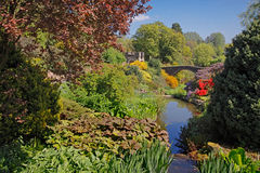 A Beautiful Garden. One of Englands finest gardens is situated in a valley in Staffordshire Royalty Free Stock Photography