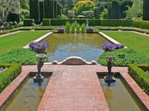 Beautiful Garden. Photo from a beautiful garden stock photography
