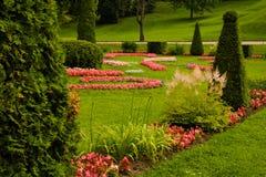 Beautiful Garden Beautiful House Stock Images