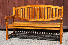 Beautiful Garden Bench. At a Napa Valley Winery in California Royalty Free Stock Photos