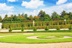 Beautiful garden in a Famous palace Versailles Stock Photography