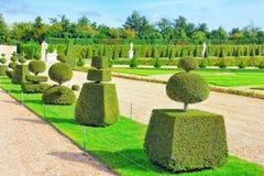 Beautiful garden in a Famous palace Versailles Stock Photos