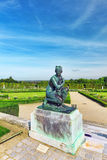 Beautiful garden in a Famous palace Versailles Stock Image