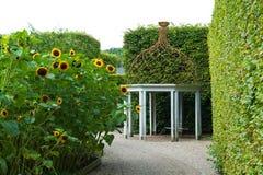 Beautiful garden gazebo pavilion Stock Photography