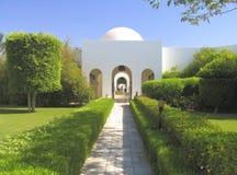 Beautiful garden in hotel resort Stock Photography