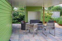 Beautiful garden idea. Stock Photo