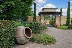 Beautiful garden idea. Stock Photos