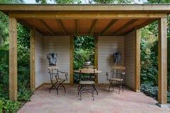 Beautiful garden idea. Royalty Free Stock Photo
