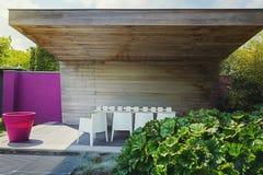 Beautiful garden idea. Royalty Free Stock Photography