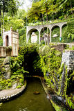 A Beautiful Garden at Monte above Funchal Madeira. This wonderful garden is at the top of the cablecar from the seafront in Funchal. It is filled with trees Stock Images