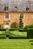 Beautiful garden and nice house Royalty Free Stock Photography