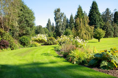 Beautiful garden in the park Stock Photography